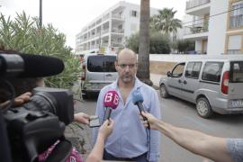 Tres días de luto en Ses Salines por el crimen machista en la Colònia