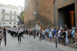 Éxito en la procesión de la Virgen de la Mercè en Palma