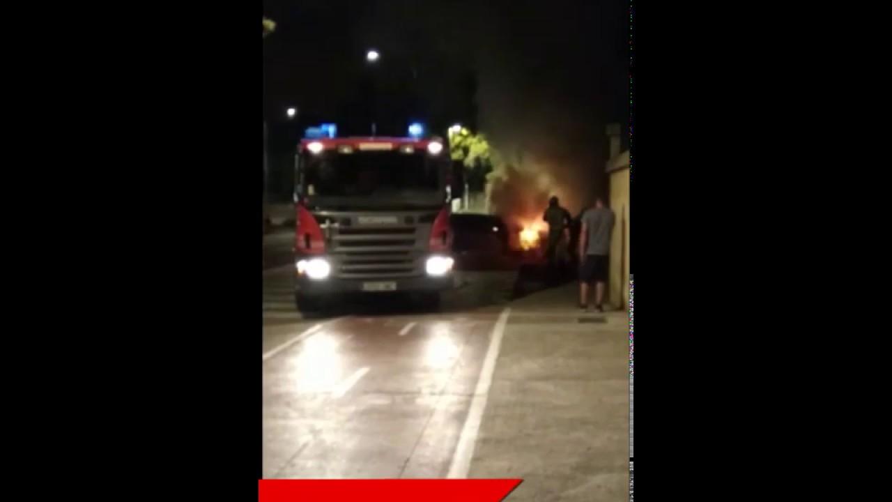 Arde un coche en Son Rapinya