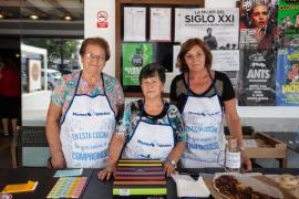 El evento solidario de Manos Unidas en Sant Rafel, en imágenes (Fotos: Arguiñe Escandón).