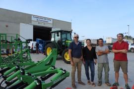 La Cooperativa del Camp de Formentera adquiere nueva maquinaria agrícola