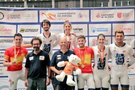 Balears copa el podio en el Nacional de pista en Valencia