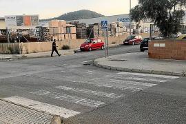 Usuarios del polígono de Son Bugadelles de Calvià alertan del mal estado de las señales de tráfico