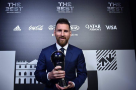 Messi es 'The Best'