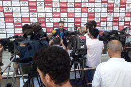 Moreno: «Jugamos contra un equipo de Champions y la ilusión es ganarle»