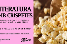 Arranca el ciclo 'Literatura & Cinema' en Rata Corner