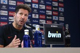 Simeone: «El Mallorca apostará por su juego porque está haciendo buenos partidos»