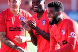 El Atlético viaja a Mallorca sin Lemar, Giménez y Saponjic