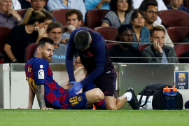 Messi vuelve a romperse