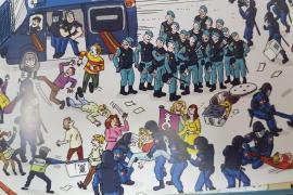 Suspendido el acto de conciliación por el cómic satírico del 1 de Octubre