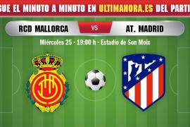 Así ha sido el Real Mallorca-Atlético de Madrid