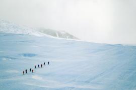 Buscan a cinco voluntarios para unirse a una expedición científica en la Antártida