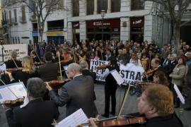 La Sinfónica de Baleares ve «en serio peligro» su supervivencia