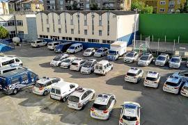 La Policía Local de Palma ultima la renovación de una flota que está en un 60 % averiada