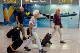 Mallorca perderá 25.000 turistas en octubre por la quiebra de Thomas Cook