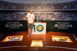 Björn Borg visita la Rafa Nadal Academy de Manacor