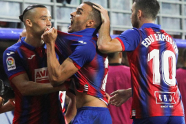 La victoria del Eibar mete al Mallorca en descenso
