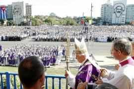 El Papa pide cambios en Cuba