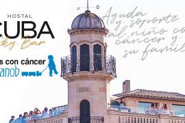 'Brunch' solidario a favor de Aspanob en el Sky Bar del Hostal Cuba