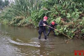 Hallado sin vida el bebé arrojado por su padre al río Besòs