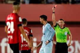 Morata, sancionado con un partido por su expulsión en Mallorca