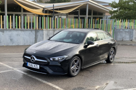 Mercedes CLA Shooting Break, un auténtico familiar con espíritu deportivo
