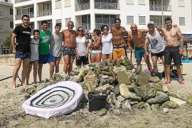 Costas condiciona la limpieza de la playa de s'Illot a que se forme el nuevo Gobierno