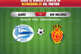 Así se ha vivido el Alavés-Mallorca