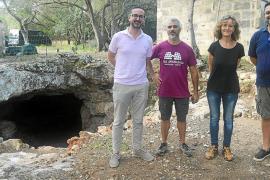 Acondicionan el yacimiento de sa Cova del Camp del Bisbe en Sencelles