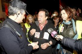 PALMA LOCAL PIQUETES INFORMATIVOS EN LA SEDE DE EMAYA FOTO MIQUEL A.