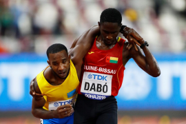 El gesto viral que marca el inicio del Mundial de atletismo