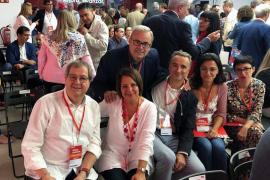 Pons vuelve a encabezar la lista del PSIB-PSOE al Congreso «lleno de ilusión»