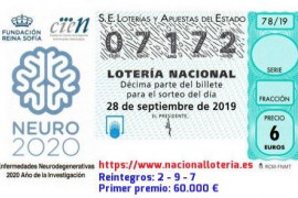 Vendido en Son Ferriol el primer premio de la Lotería Nacional