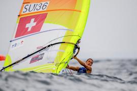 Mateo Sanz logra plaza olímpica para Suiza en RS:X