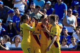 Luis Suárez rompe la maldición lejos del Camp Nou