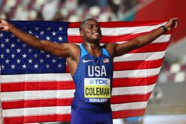 Coleman destrona a Gatlin como rey de la velocidad