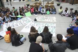 Menorca Dia Huelga General Vaga Protesta Manifestacion Estudiant
