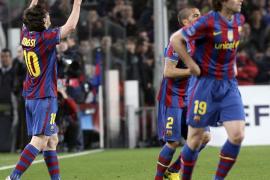 El Barcelona supera al Stuttgart (4-0) y se queda solo en la Champions