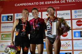 Xisca Tous, subcampeona de España de triatlón