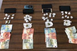 Detienen a cuatro personas por venta de drogas en Son Gotleu