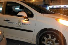 La Policía Local de Palma tiene que patrullar en coches de Infraestructuras