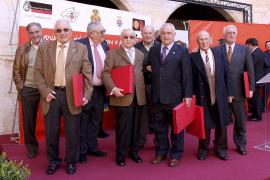 El Mallorca abre los actos del 50 aniversario de su ascenso a Primera División