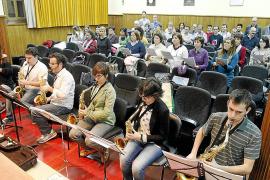 El Conservatori y la Coral de la UIB se unen por primera vez para el festival de saxofón