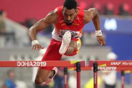 Orlando Ortega, a semifinales de 110 metros vallas con el mejor tiempo de las series