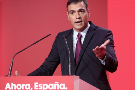 Sánchez promete un reparto justo de la riqueza si llega la crisis
