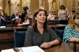 Armengol no ve positivo ni para Baleares ni para España que haya elecciones