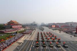 Desfile en China