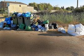 Identifican en Felanitx a 300 personas por infracciones de basura o escombros