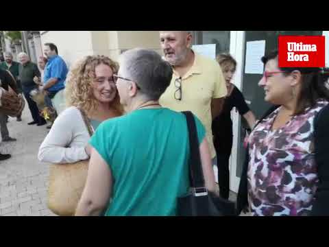 Cien personas respaldan a Paula Rotger en un acto en Esporles