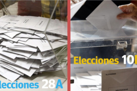 Los electores votaron el 28A y vuelven a estar convocados para el 10N